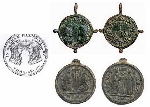 medalla arqueológica -siglo XVII Gregorioxivab