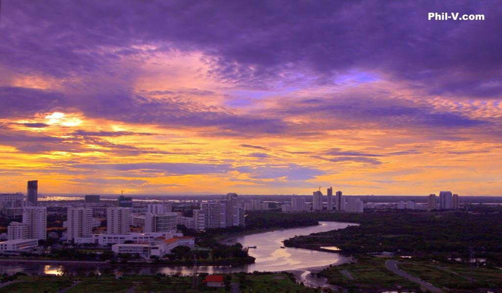 Việt Nam tuyệt đẹp qua ống kính một người Mỹ Sunriseoverphumyhung03