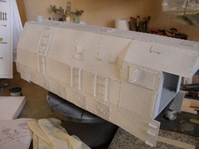 peinture - (Thunderbird) BR 57 Baureihe Panzerlok (Peinture en cours)  - Page 2 58599163