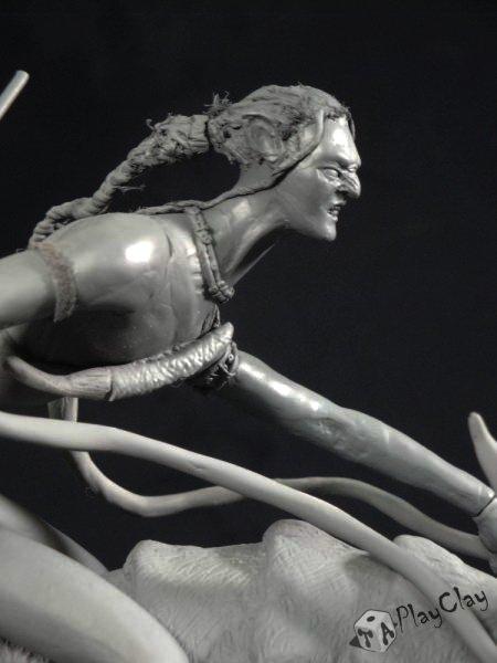 Diorama Jake Sully on Thanator by Taoplayclay 20853210150139956397076