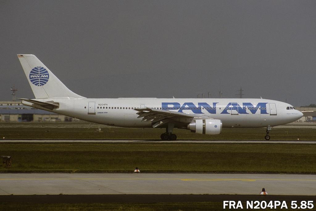 A300 in FRA Fran204pa