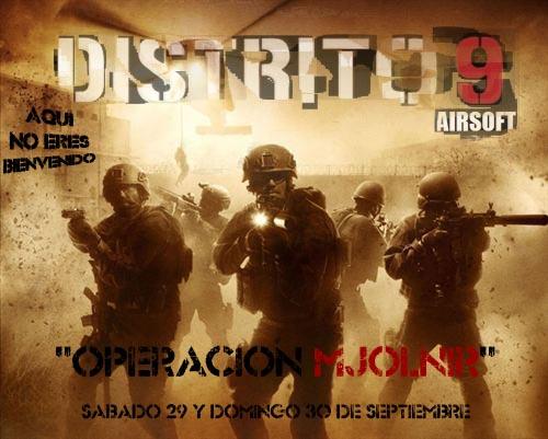 """28,29 y 30 Septiembre - Partidas """"DISTRITO 9"""" Inagura1"""