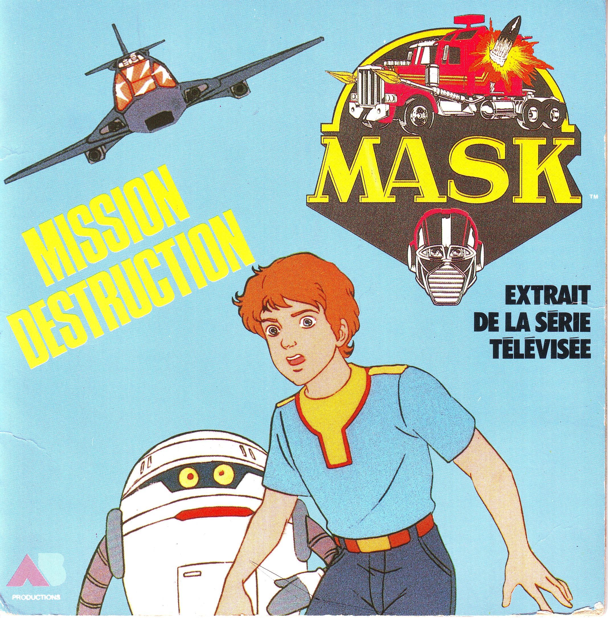 Dorothée et AB Productions (Récré A2 - Club Dorothée) Mask2h