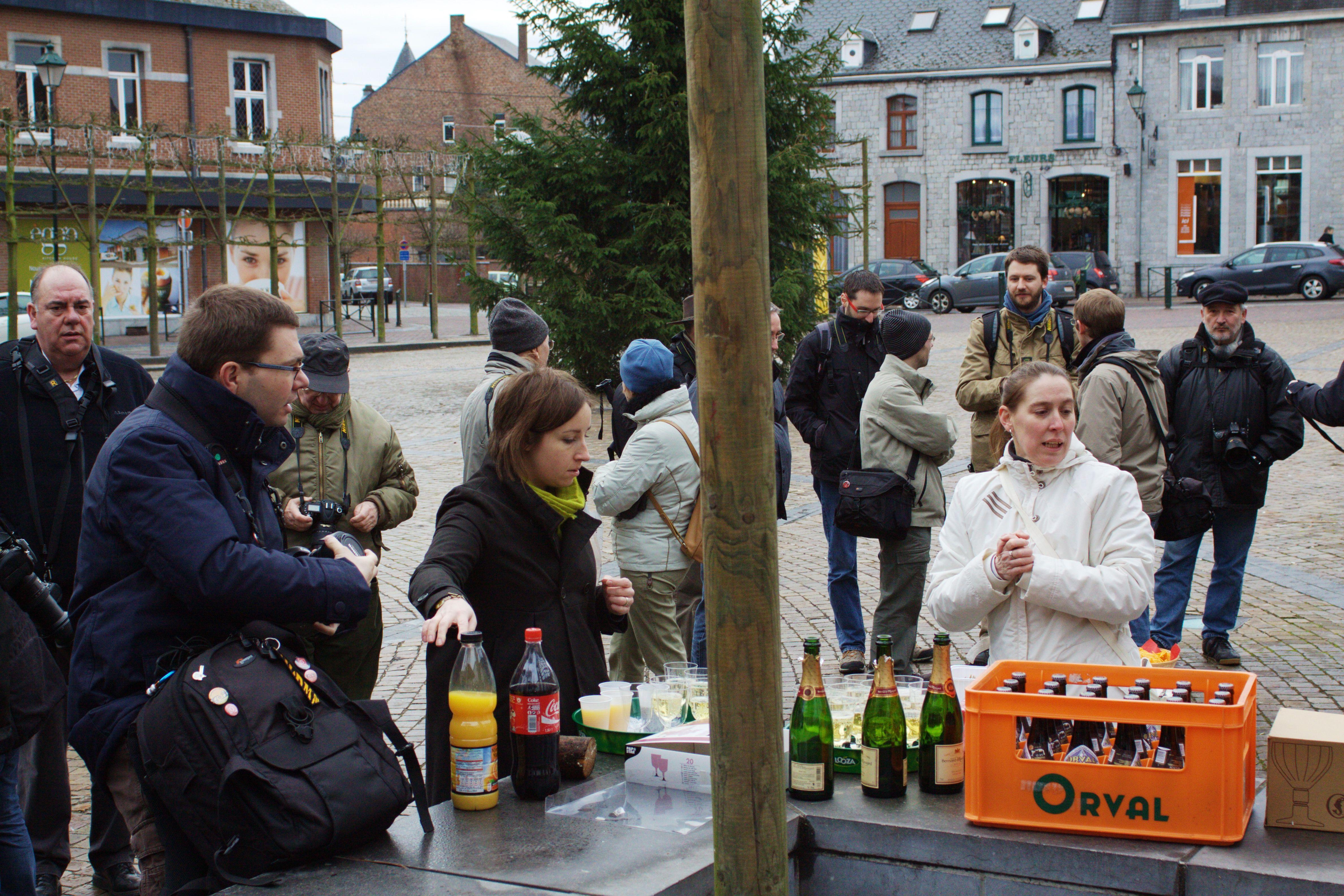 Sortie 3ème anniversaire le 16 janvier 2011 à Marche en Famenne : Les photos d'ambiances 114g