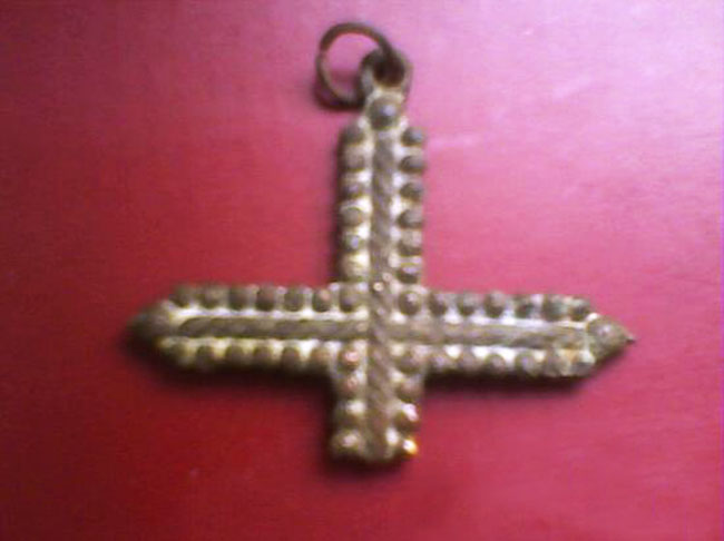 Cruz de filigrana con pezuelos S-XVII– CC(021) Cxebv