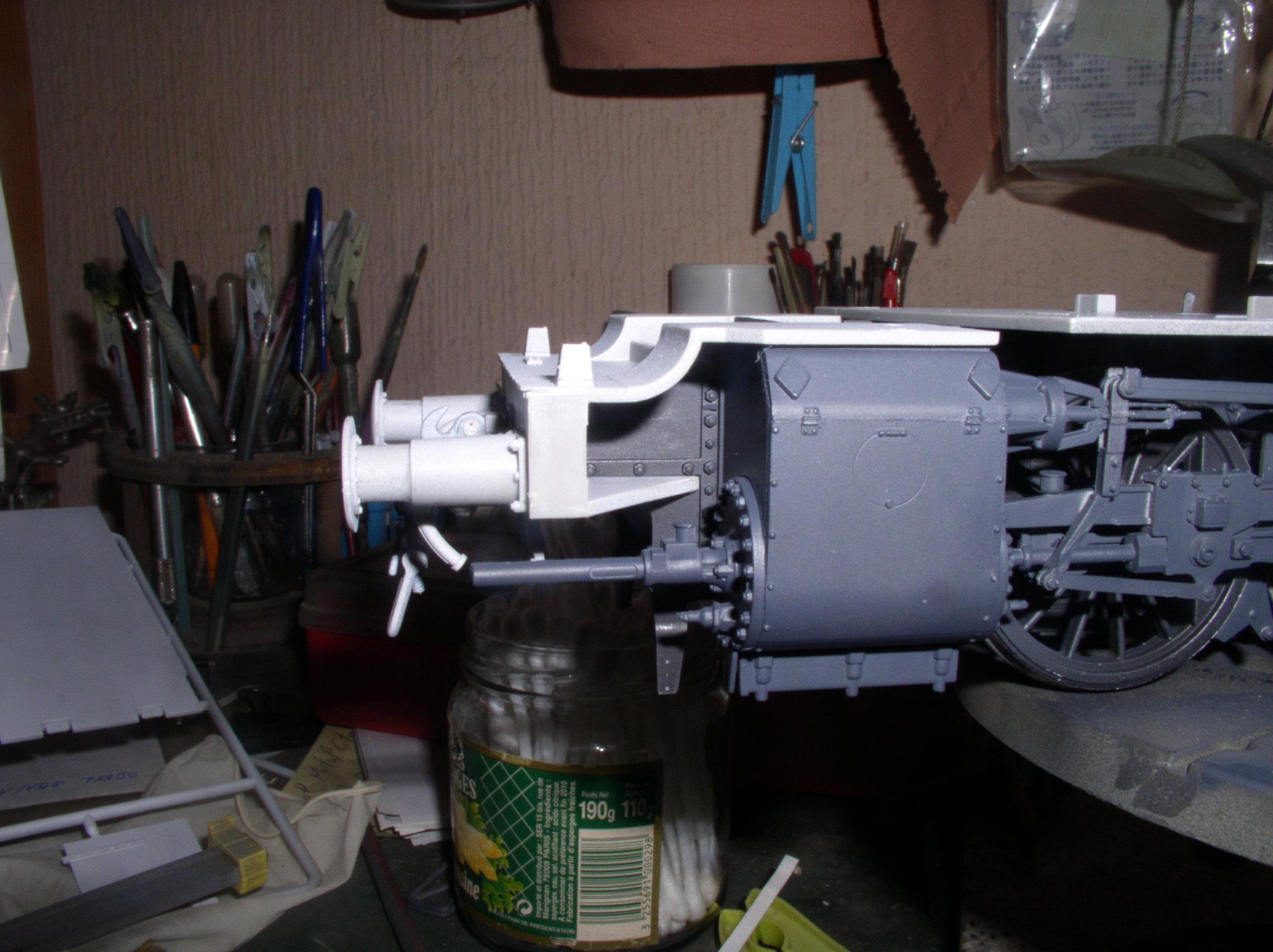 peinture - (Thunderbird) BR 57 Baureihe Panzerlok (Peinture en cours)  - Page 2 33497266