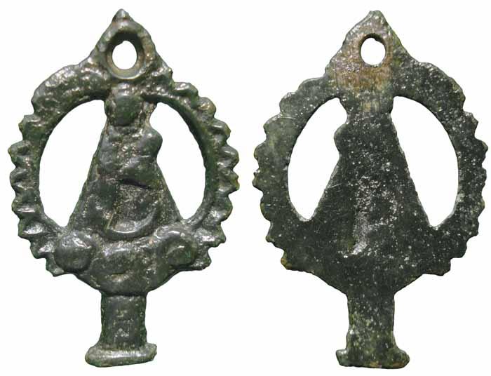 Virgen del Pilar - MF(008) Mf008