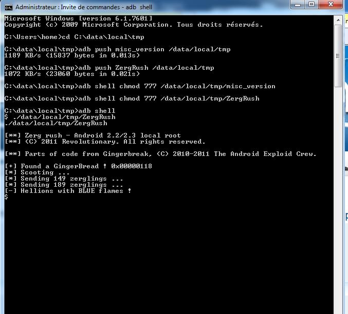 [TUTO] HTC Desire S : Remplacer la ROM Opérateur par la ROM HTC officielle facilement ! - Page 8 Zergrush