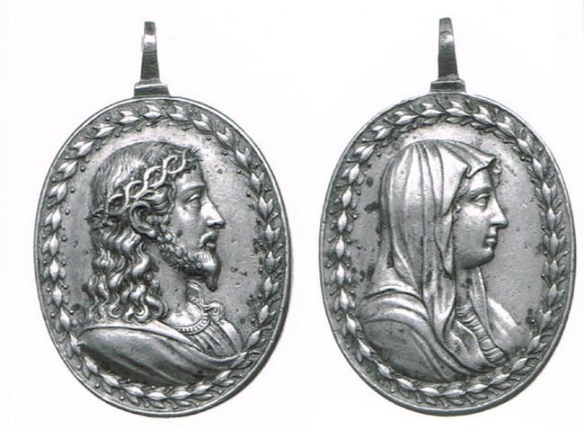 Recopilación medallas con el Rostro de Cristo ( Salvator Mvndi II) I35m