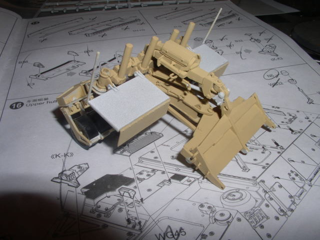Stryker 1132 mine roller 1/35 Trumpeter Dio terminé 24655437