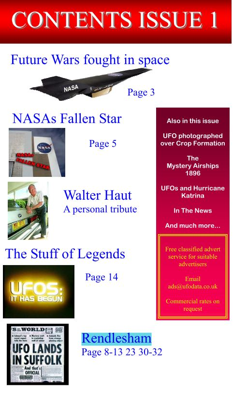 "Magazine Anglais ""UFOData"" collection complète Do4f5a4f92"