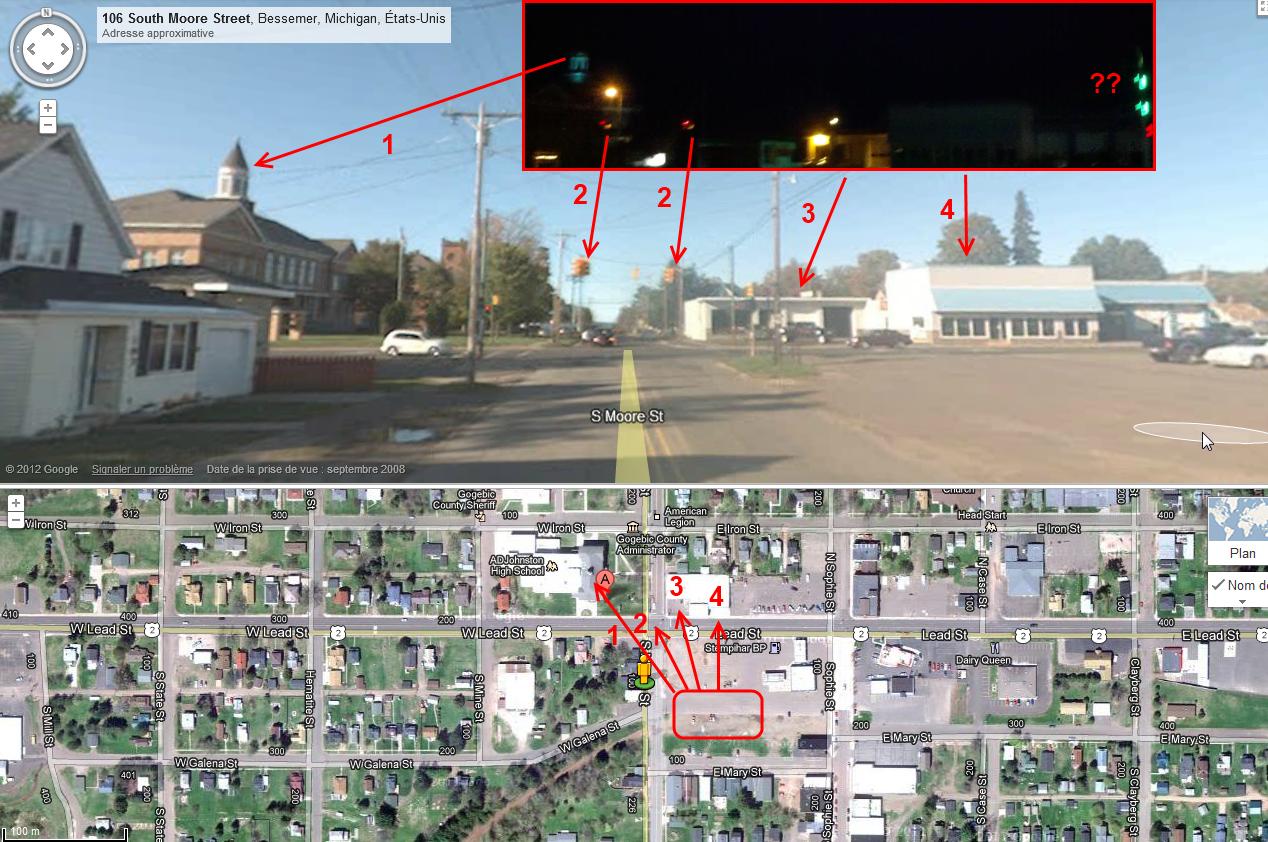 OVNI filmé à Bessemer (Michigan, USA) Bessemer1