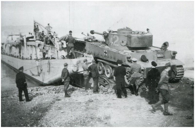 Tiger I du sPzAbt. 501 en Tunisie 1943 Tigerinr142spzabt501emb