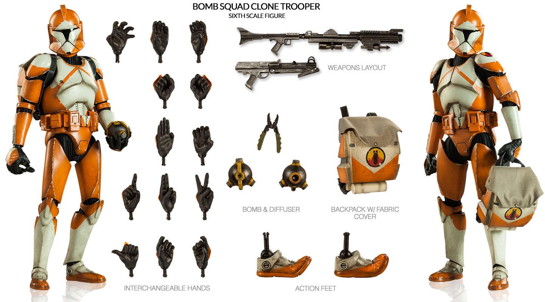 CLONE WARS - BOMB SQUAD CLONE TROOPER Nucvz