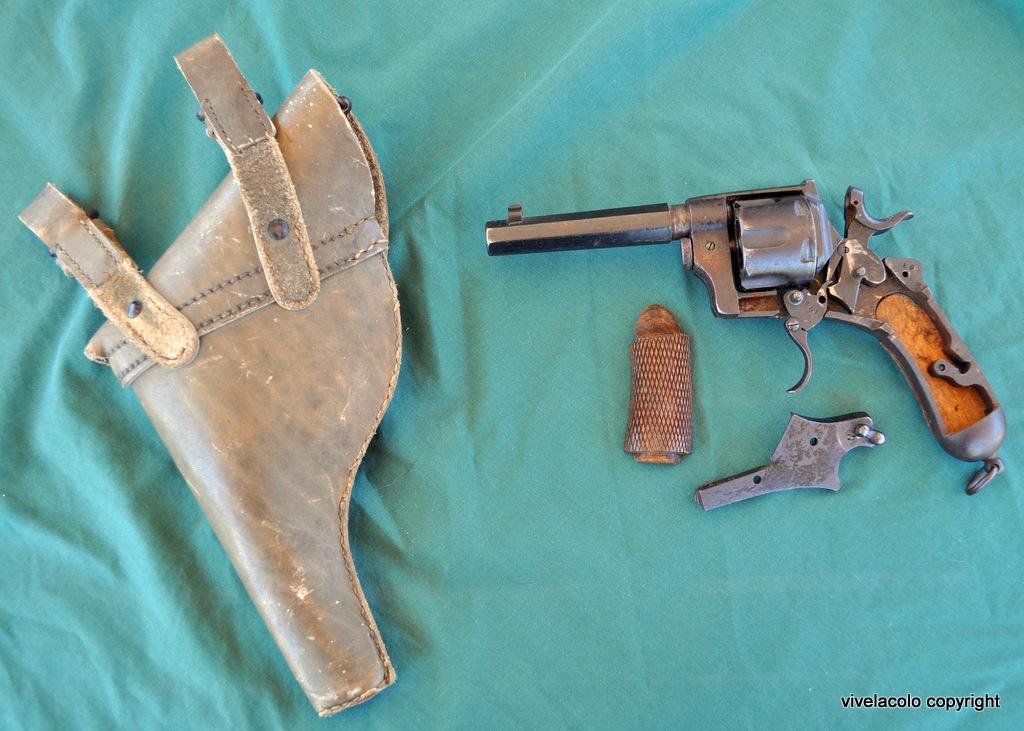 Pistola Rotazione, Sistema Bodeo, Modello 1889 Dsc0382fi