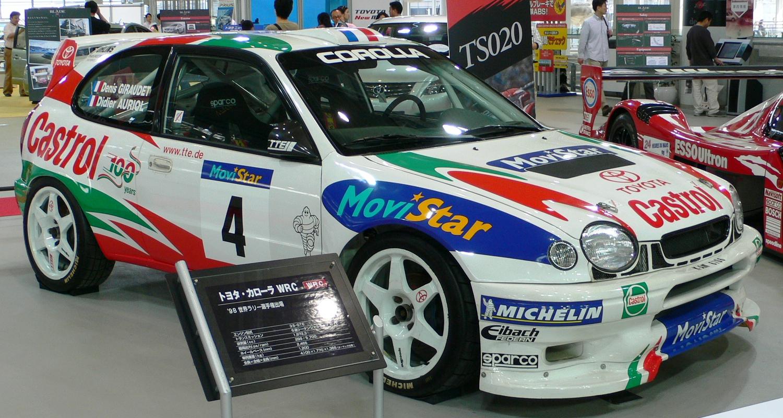 La corolla E110 Toyotacorollawrc01