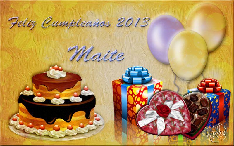 Regalos de mis amigas MAITE - Página 2 Maite2013