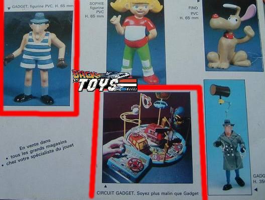 INSPECTOR GADGET / Inspecteur Gadget (Bandai, Galoob..) 1985 Zii4