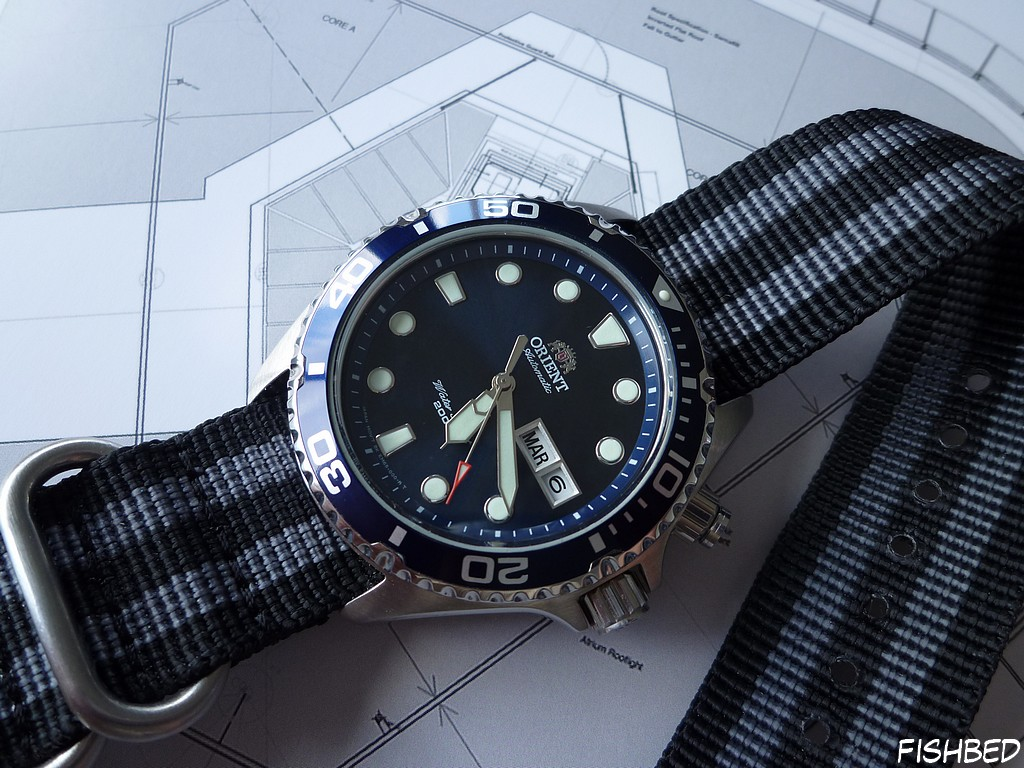 Orient EM6500 Ray Blue Hth0