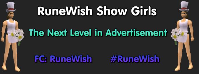 ♣ RuneWish Show Girl Advertisement System ♣ 120709150946