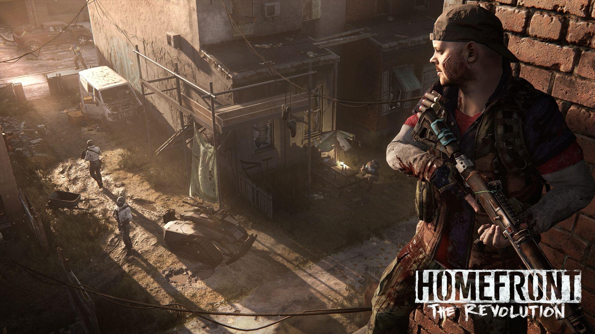 [E3 14] Primeras imágenes y trailer de Homefront: The Revolution para PS4, Xbox One y PC Q6gw