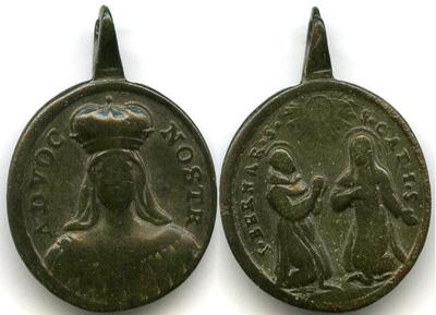 S. Felix de Cantalicio / S. Bernardino de Siena y S. Catalina de Siena - s. XVIII (SXVIII-C47) Provenzanobernardinoyca