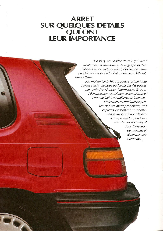 La E90 dans la presse. Toyotacorollagti16d