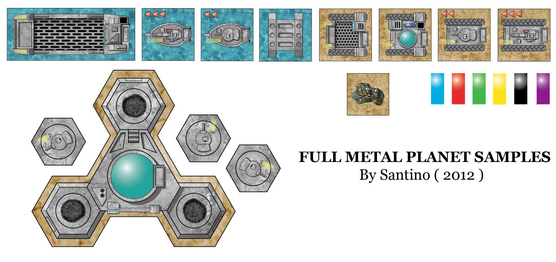 Graphismes Full Metal Planète Fullmetalp