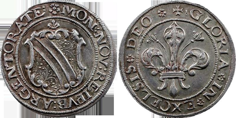 30. Dickpfennig ou Sechsbätzner (1/4 Taler, 24 Kreuzer), avant 1621 Dickpfennig