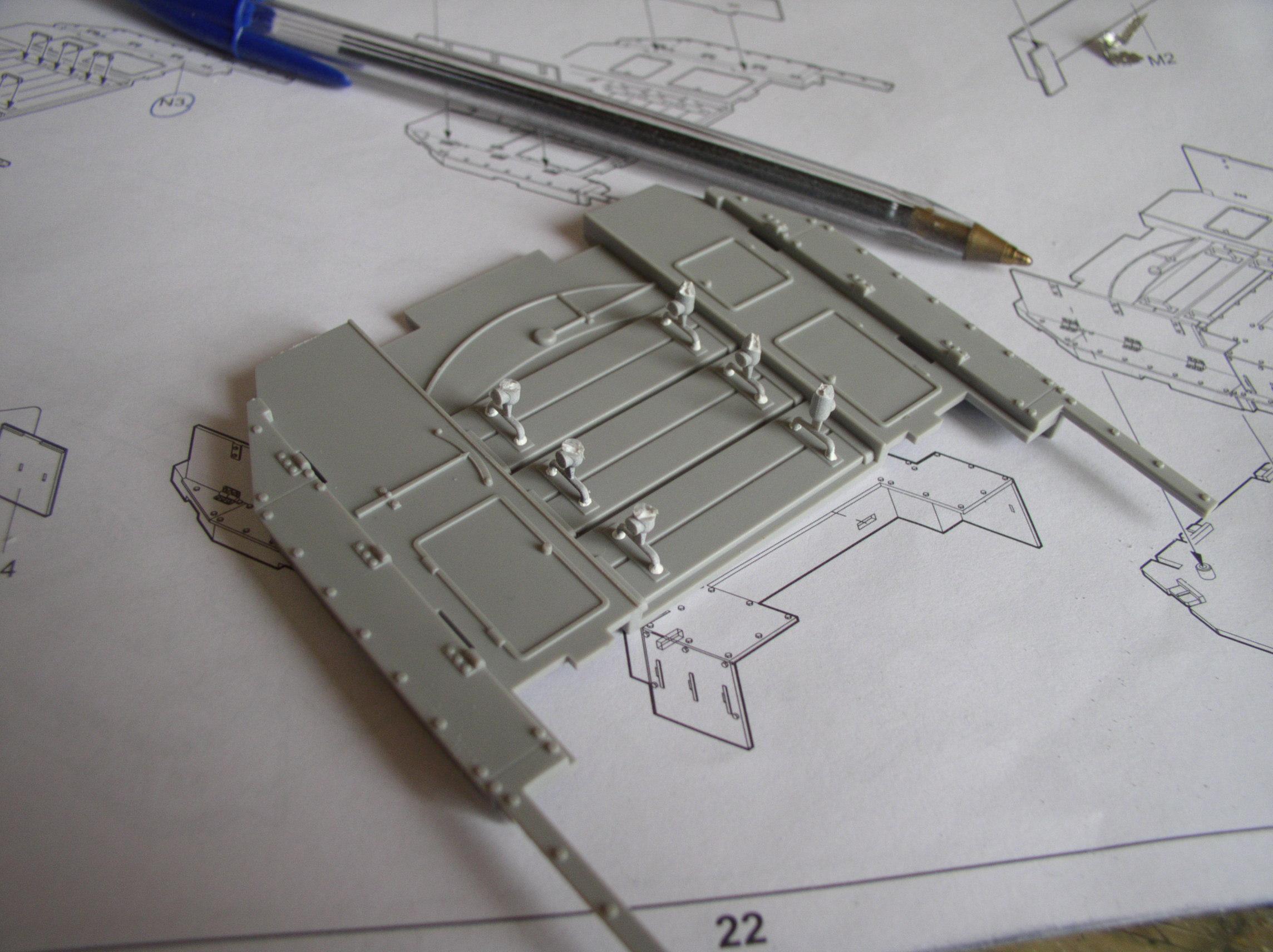 peinture - (Thunderbird) BR 57 Baureihe Panzerlok (Peinture en cours)  - Page 2 108hv
