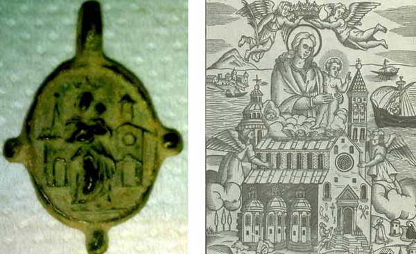Traslación Santa Casa de Loreto / Dios Padre y Espíritu Santo -  S. XVI-XVII Basilicaa