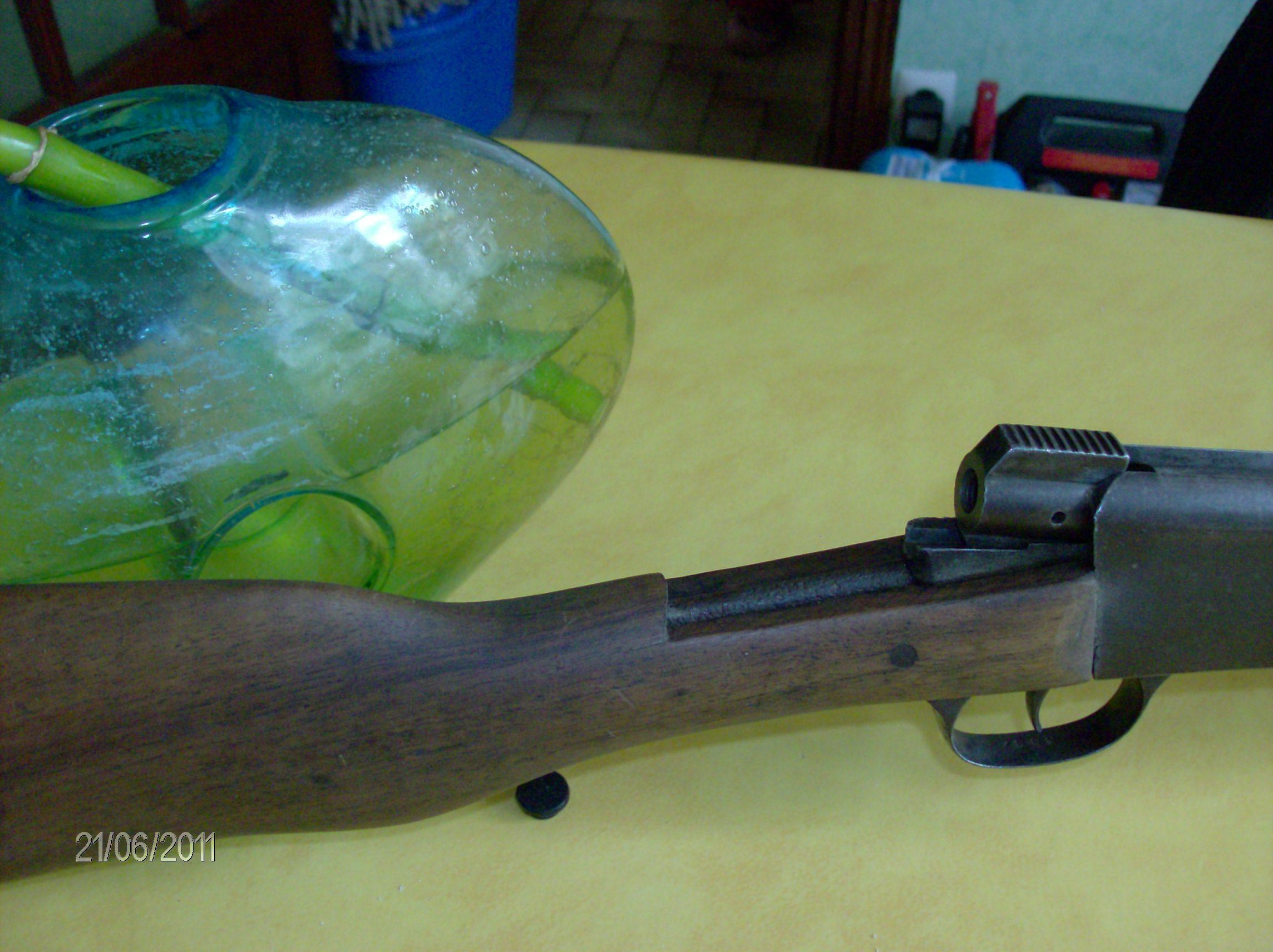 Carabine école, 6mm, à identifier 024db