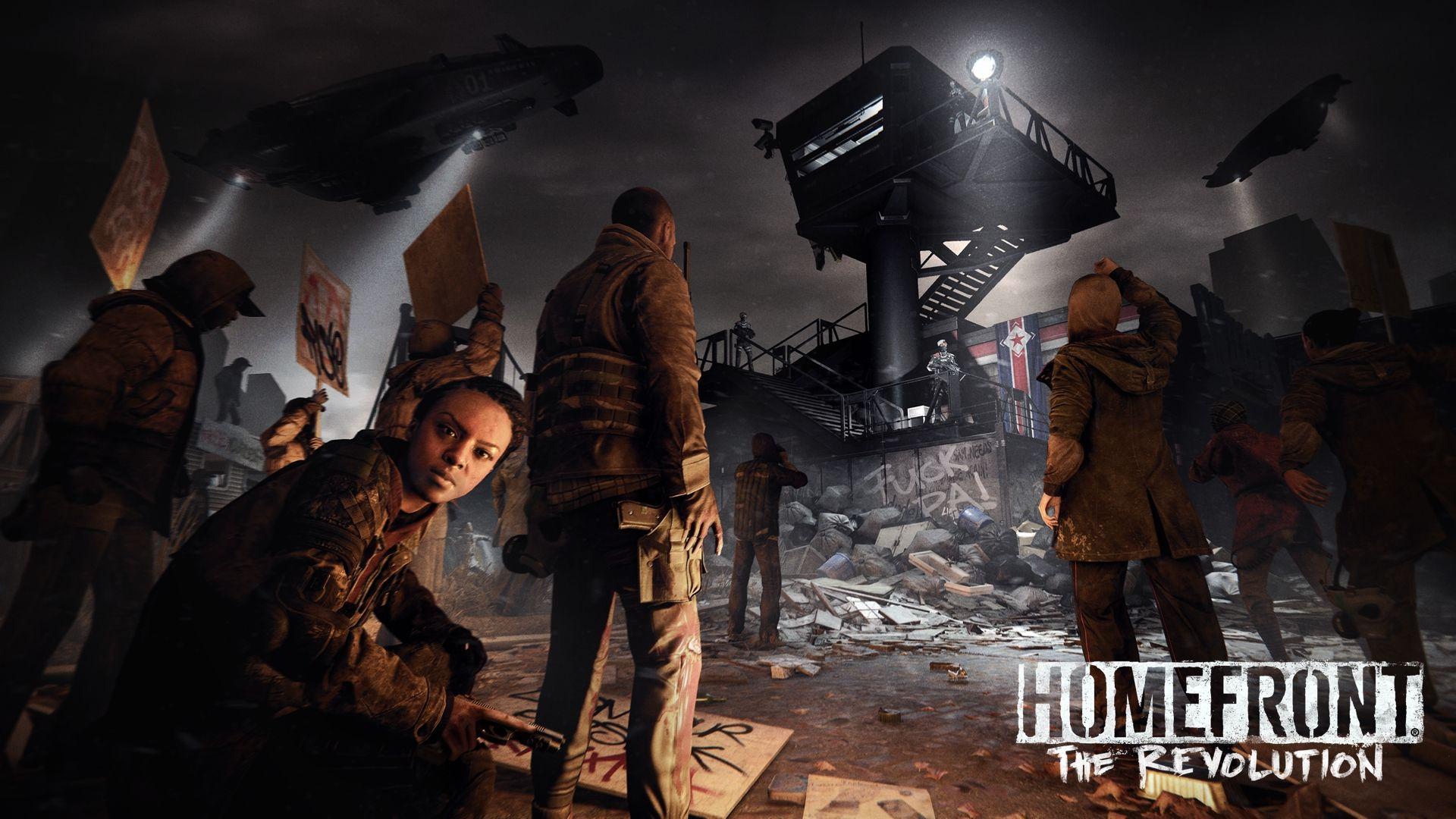 [E3 14] Primeras imágenes y trailer de Homefront: The Revolution para PS4, Xbox One y PC Mnerf