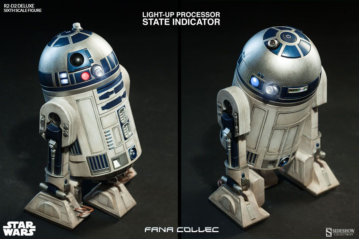 STAR WARS - R2-D2 deluxe Mx9h