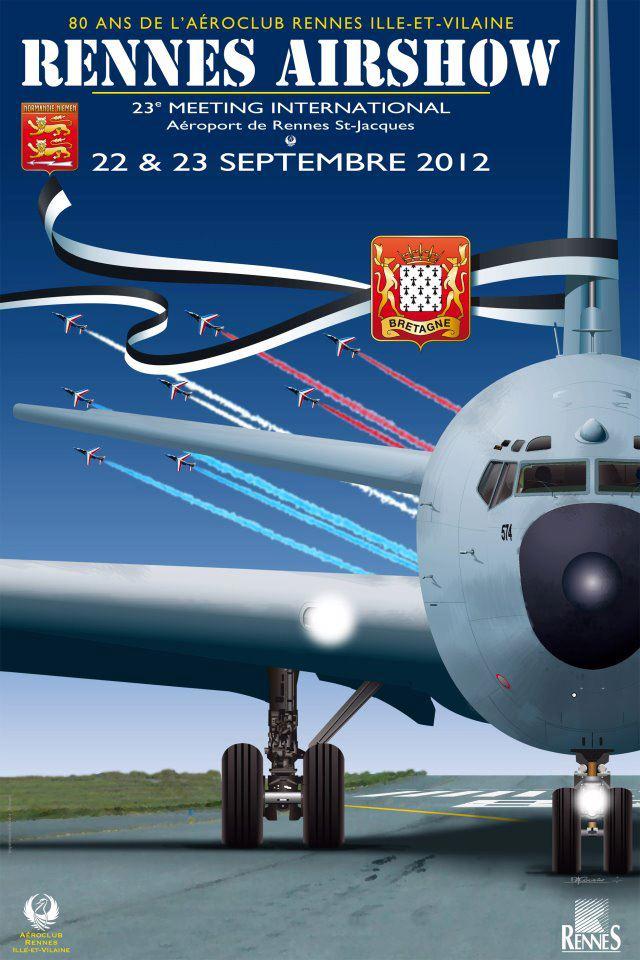 Rennes Airshow 2012 les 22 & 23 septembre 2012 Rennesairshow2012
