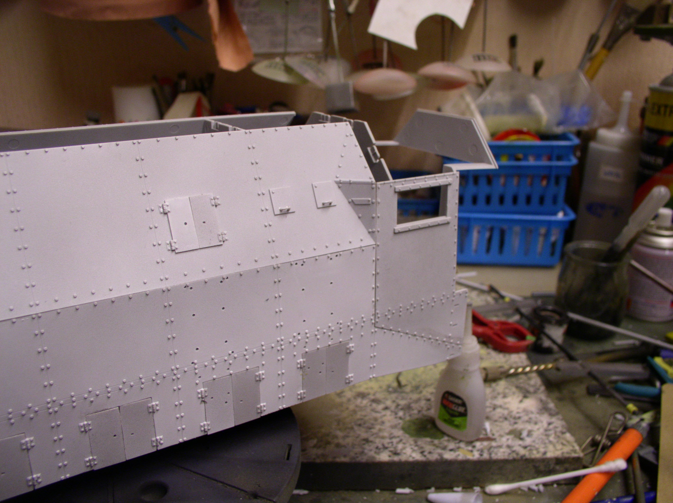 peinture - (Thunderbird) BR 57 Baureihe Panzerlok (Peinture en cours)  - Page 2 11566552