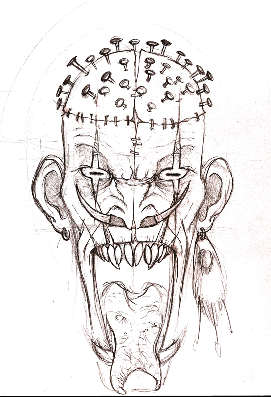 Croquis de monstres T6l9