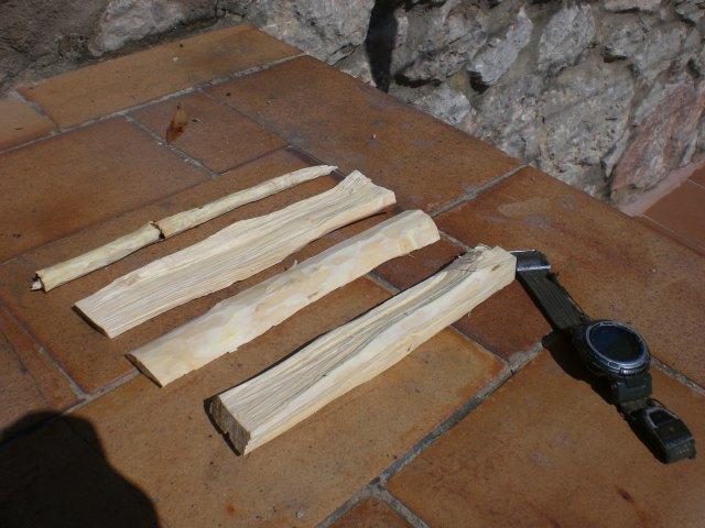 Fuego por friccion con arco...Fabricando el Kit...Parte I... Cimg2749i