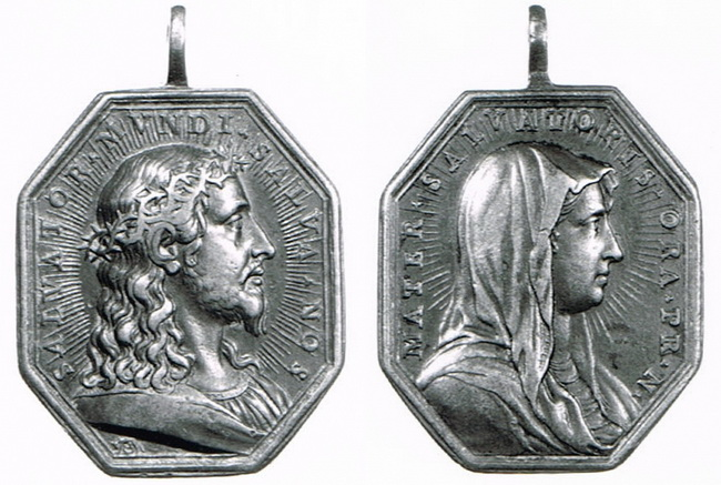 Recopilación medallas con el Rostro de Cristo ( Salvator Mvndi II) M73h