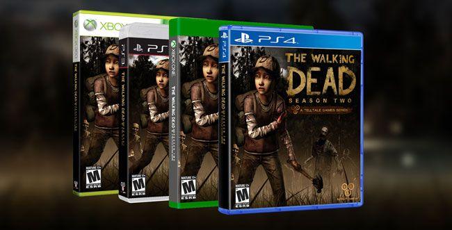 La primera y segunda temporada de The Walking Dead y The Wolf Among Us, llegarán a PS4 este año. Vp4xu