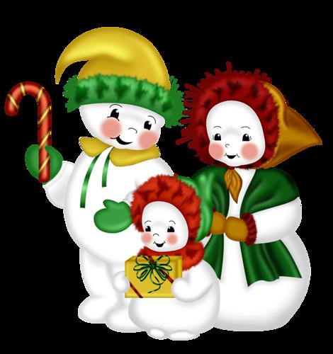 Muñecos De Nieve D8s1