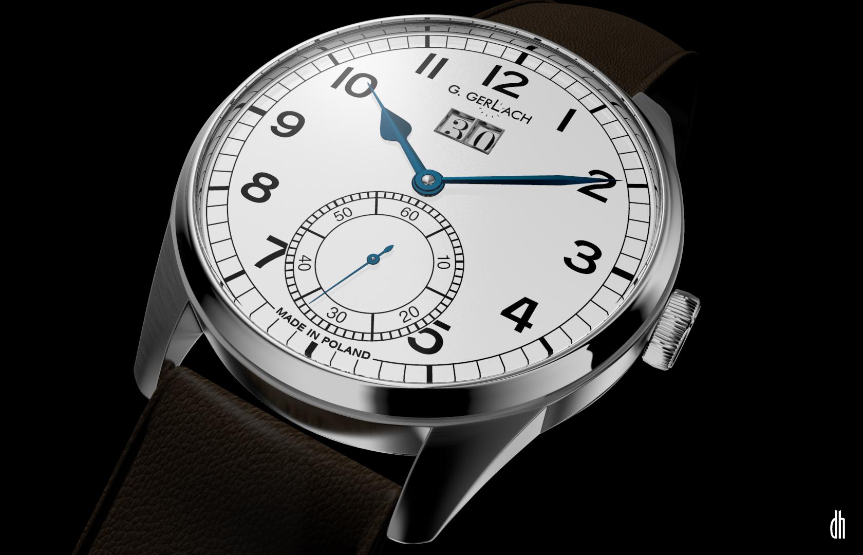 G. Gerlach: la montre polonaise! - Page 2 Batory2