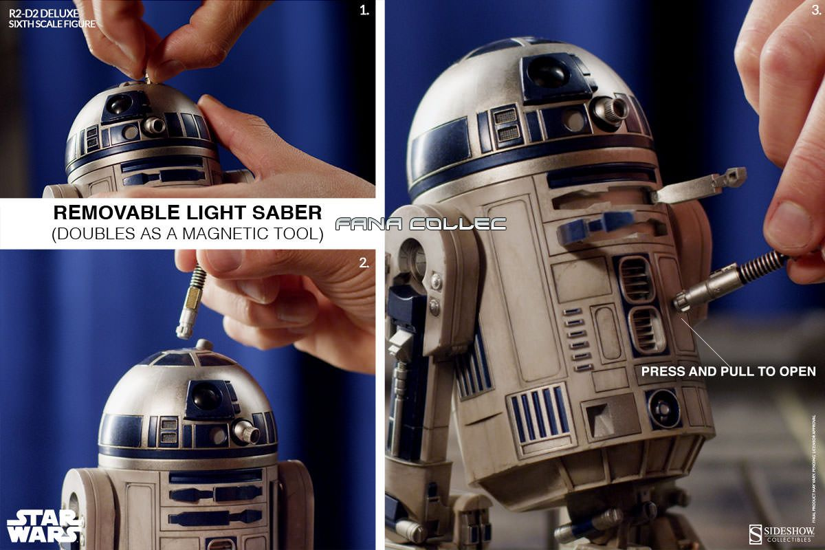 STAR WARS - R2-D2 deluxe 5qa4
