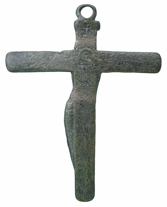 "Crucifijo pectoral con Cristo ""S"". S-XVIII- CC-035 - [Pec021/S-XVIII]* Cc035c"
