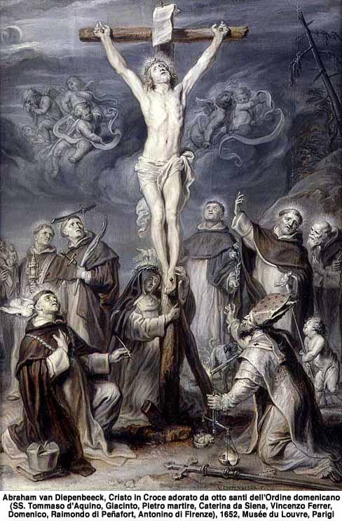 Virgen del Rosario con diez santos dominicos (R.M. SXVIII-O168) 51250m