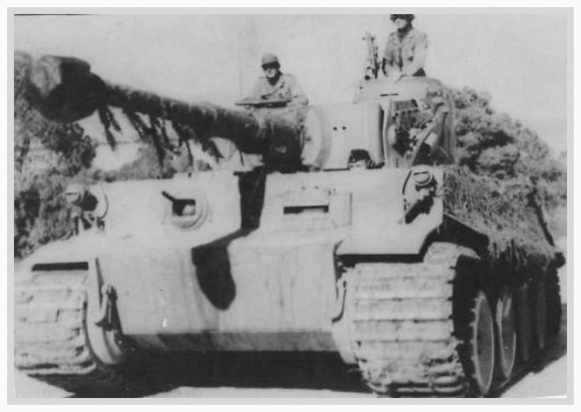 Tiger I du sPzAbt. 501 en Tunisie 1943 Tigerinr142spzabt5012