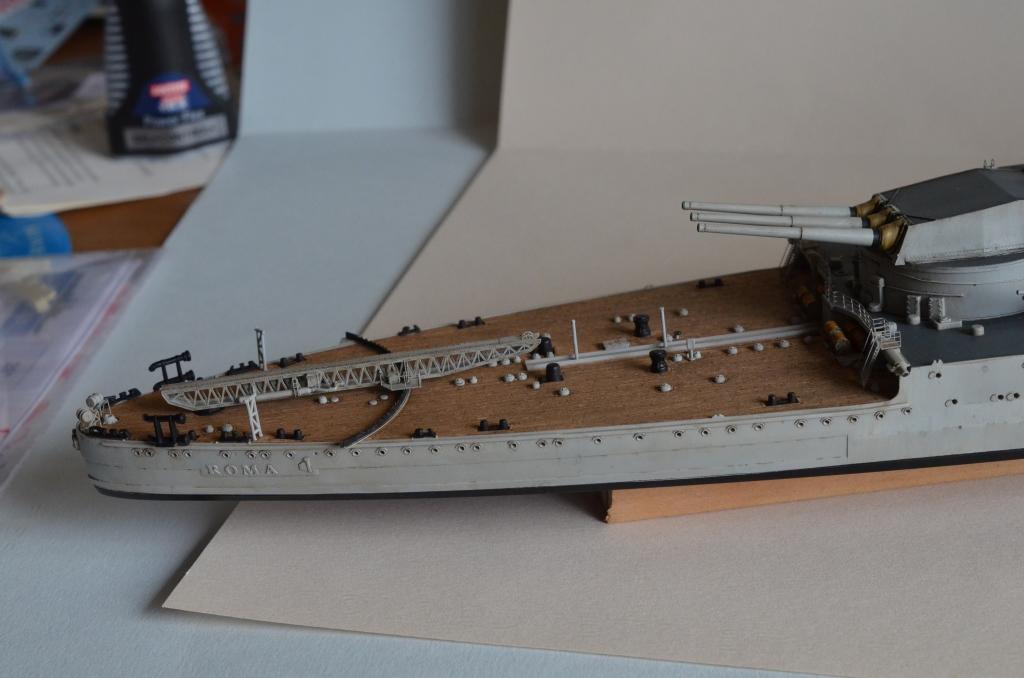 RN ROMA au 1/350 avec Kit Flyhawk. Pu36