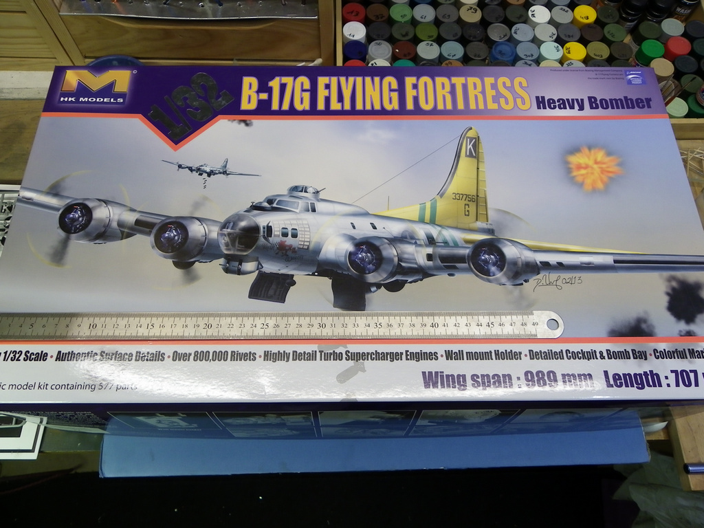 [Revue de Kit] BOEING B-17G - Hong Kong Models - 1/32 Lw4r