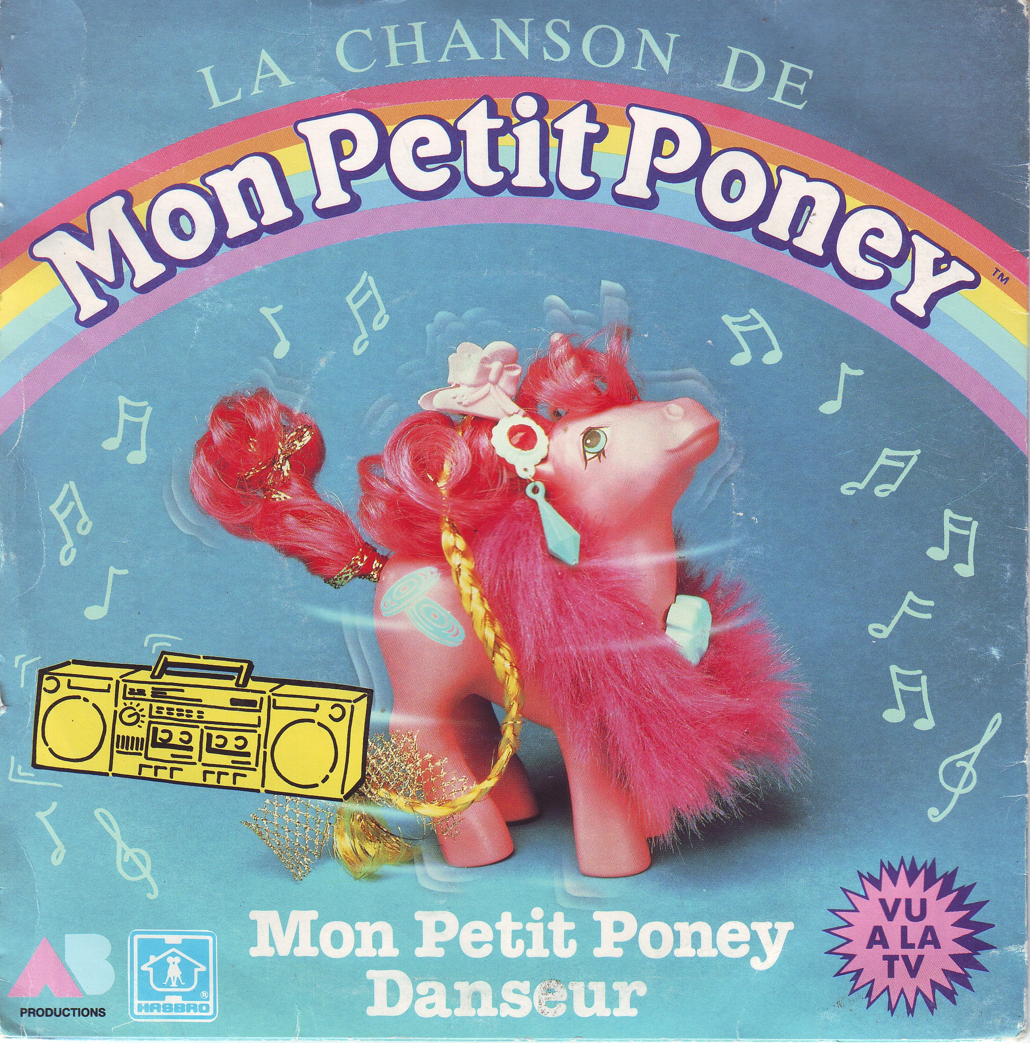 Dorothée et AB Productions (Récré A2 - Club Dorothée) Monpetitponey1