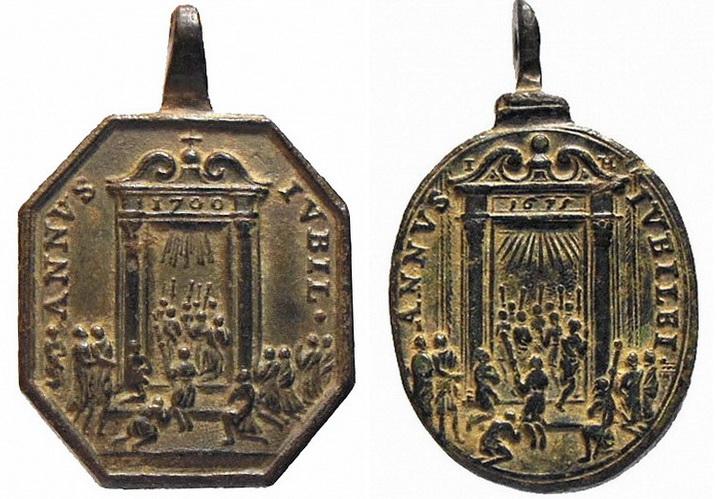 Salvator Mundi / Jubileo  1700 (RM SXVIII-P48) ( HAMERANI ) 1f6